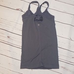 Athleta Tops - Athleta Grey Herringbone Stretch Tank